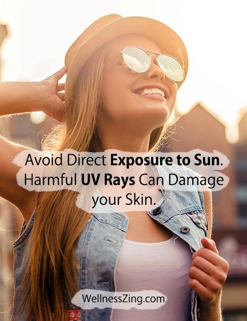 Avoid Direct Exposure to UV Rays