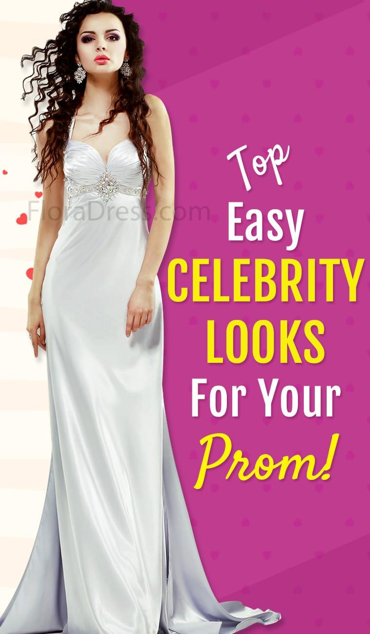 Celebrity Look Prom Dress