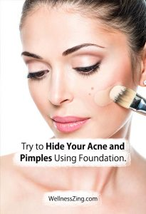 Cover Your Acne With Foundation