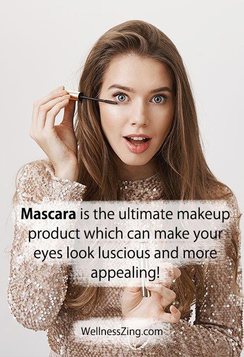 Mascara Makes Eyes Look Appealing