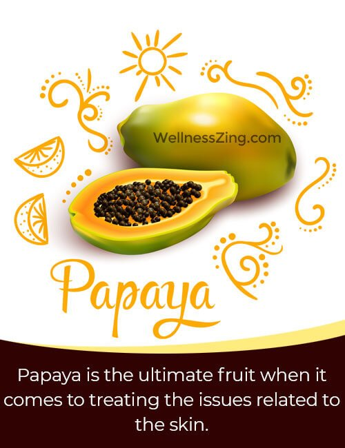 Papaya and Almond Face Pack