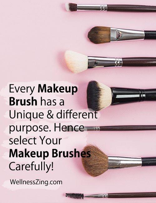 Select Your Makeup Brushes Carefully