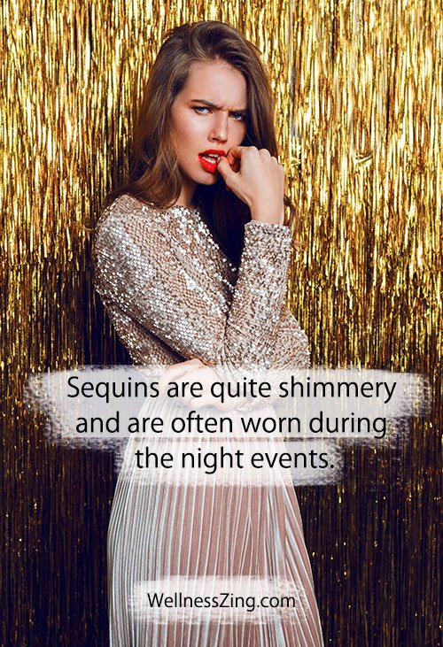 Sequined Dress Fashion