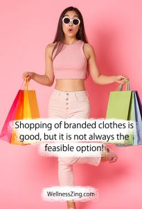 Try Shopping Some Non-Branded Clothes Too!