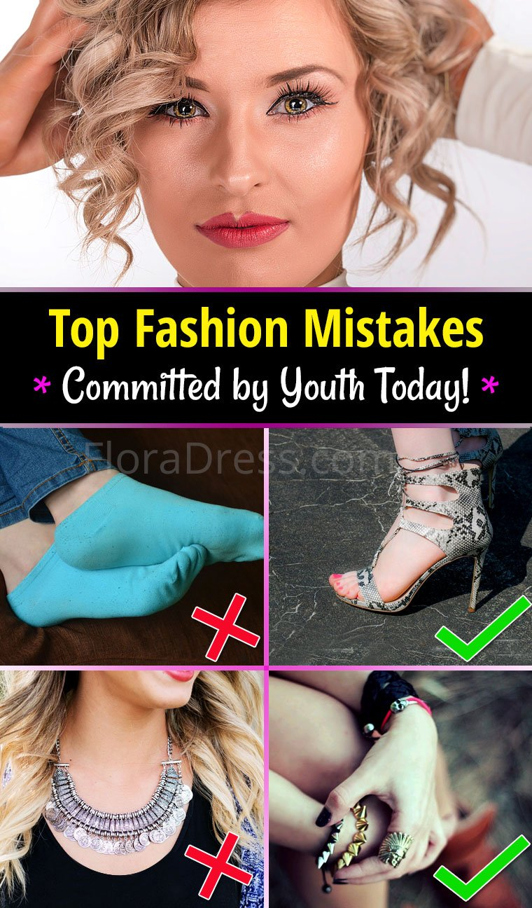 Top Fashion Mistakes Committed by Youth Today