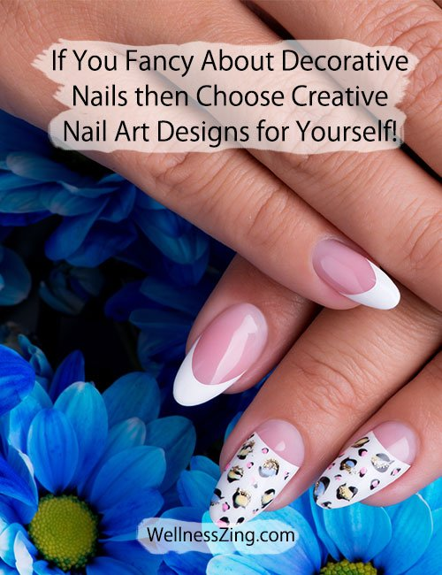 Try Beautiful Nail Art Designs for Your Nails