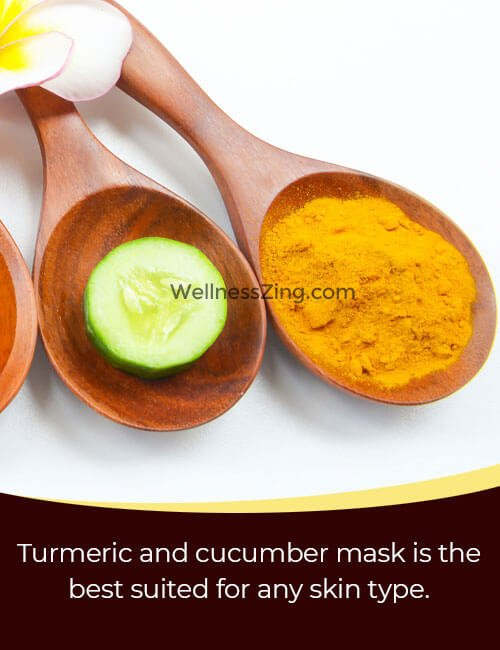 Turmeric Cucumber Face Pack