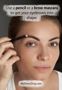 Use Pencil or Brow Mascara for Eye Brows