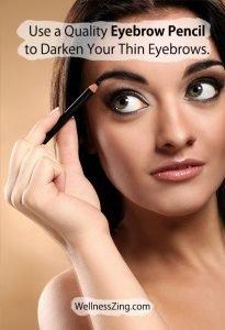 Use Quality Eye Brow Pencil