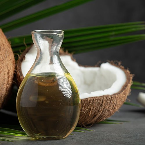 Mix Coconut Oil with Tea Tree Oil for Hair Care
