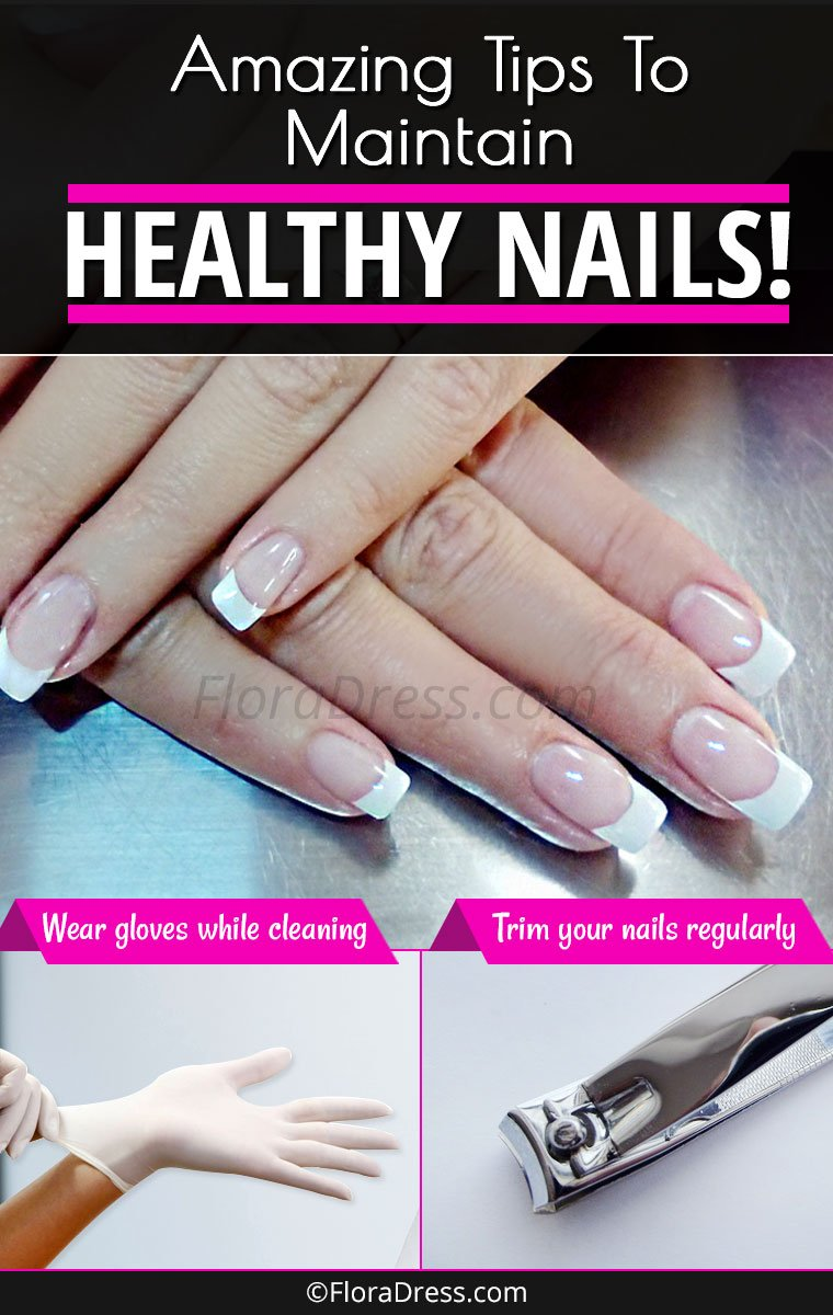 Great Nail Care Tips for Maintaining Healthy Nails