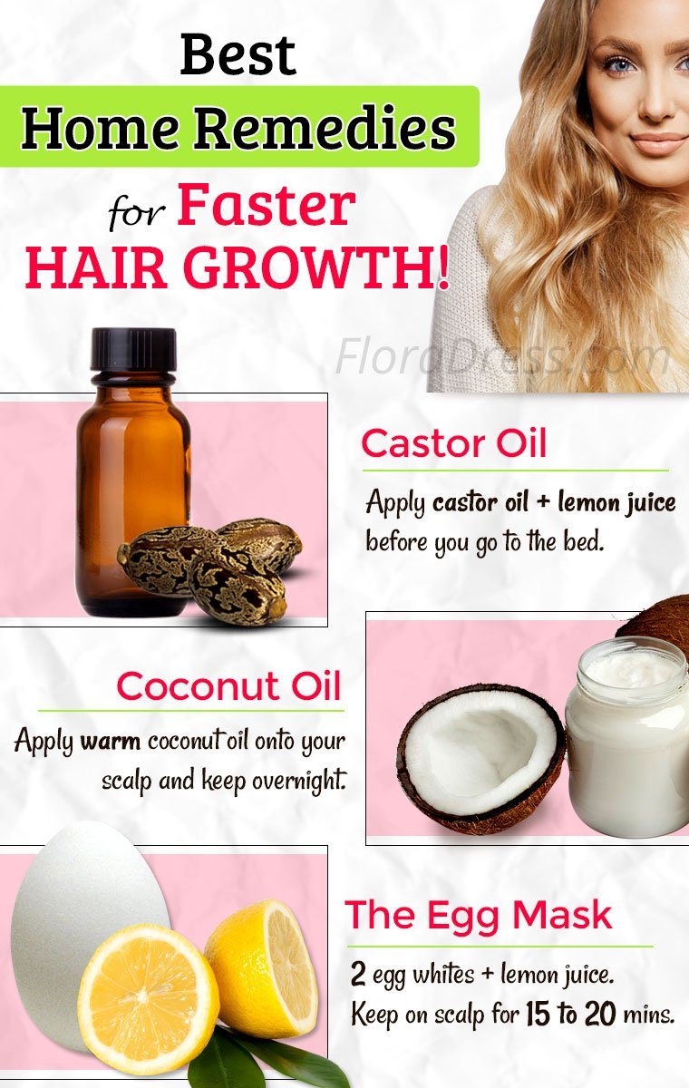 Best Home Remedies for Hair Growth!