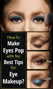 How to make eyes pop with the best tips for eye makeup?