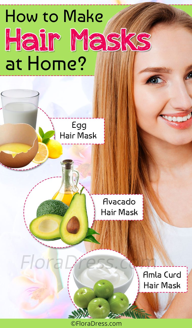 How to Make Hair Masks at Home?