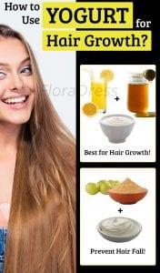 How to Use Yogurt for Hair Growth?