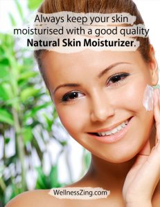 Keep Your Skin Moisturized with Natural Moisturizer