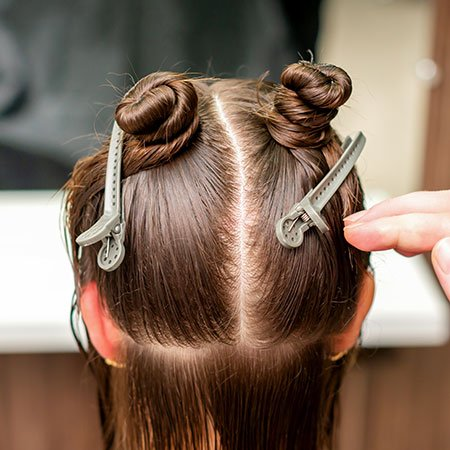 Pin Short And Roll Tuck Hairstyle