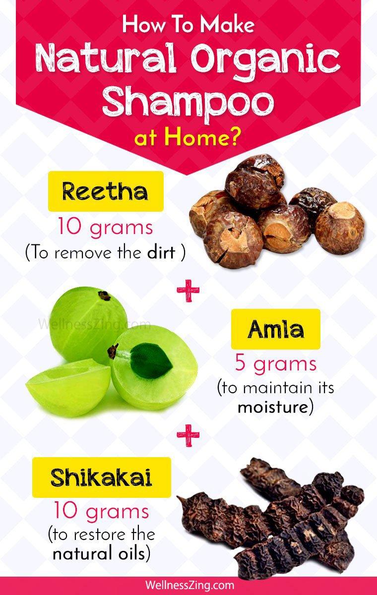 DIY Natural Organic Shampoo Recipes