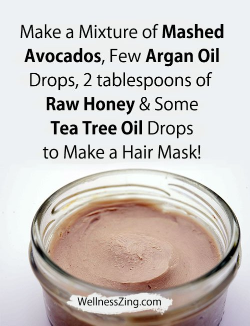 Tea Tree Oil and Avocado Hair Mask Recipe
