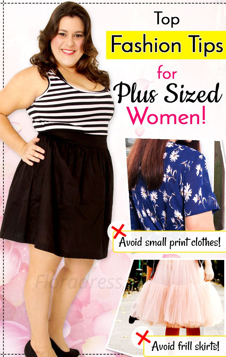 Top Fashion Tips for Plus Sized Women