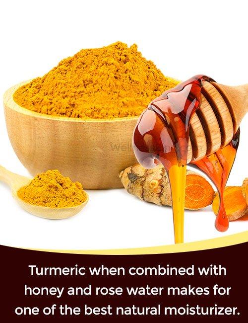 Turmeric Honey Rose Water Skin Moisturizer