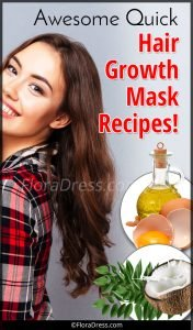 Awesome Quick Hair Growth Mask Recipes!
