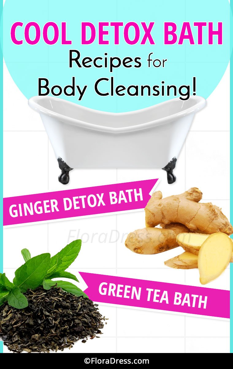 Cool Detox Bath Recipes for Body Cleansing
