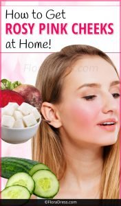 How to Get Rosy Pink Cheeks at Home?
