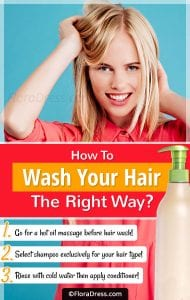 How to Wash Your Hair the Right Way?