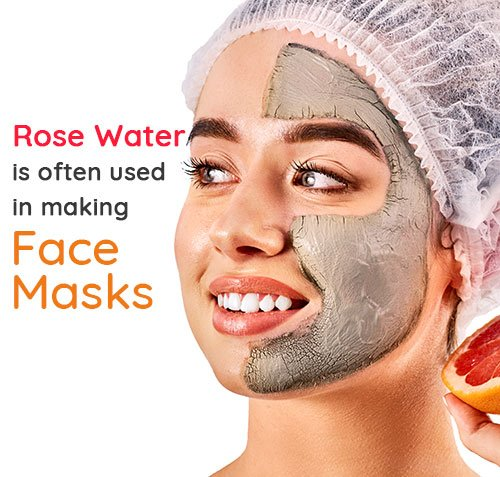 Rosewater Used to Make Face Mask