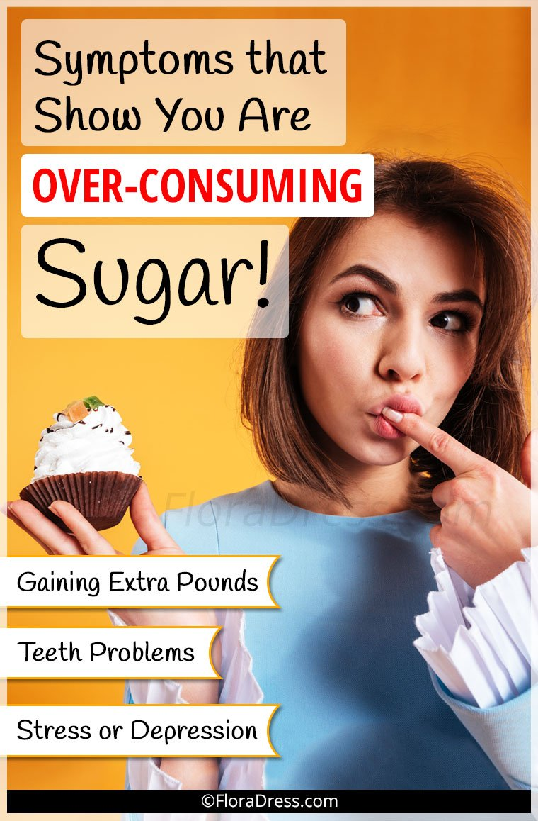 Symptoms That Show You are Over-Consuming Sugar!
