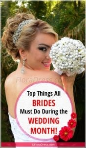 Top Things All Brides Must Do During the Wedding Month