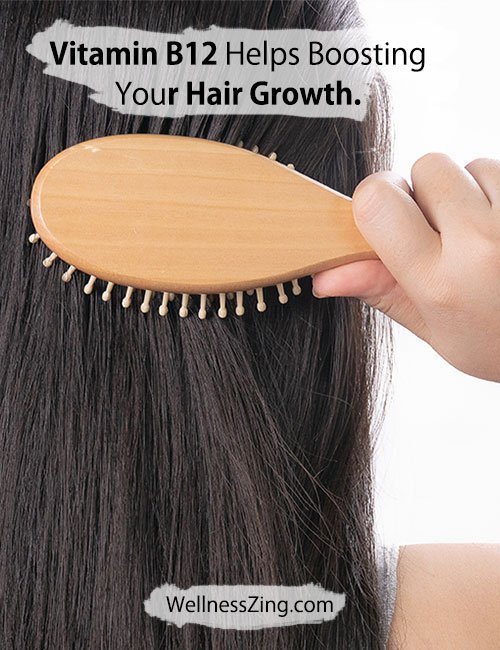 Vitamin B12 Helps Boosting Hair Growth