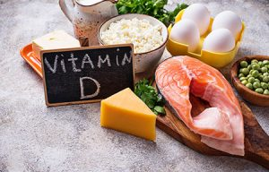 Healthy Food Containing Vitamin D