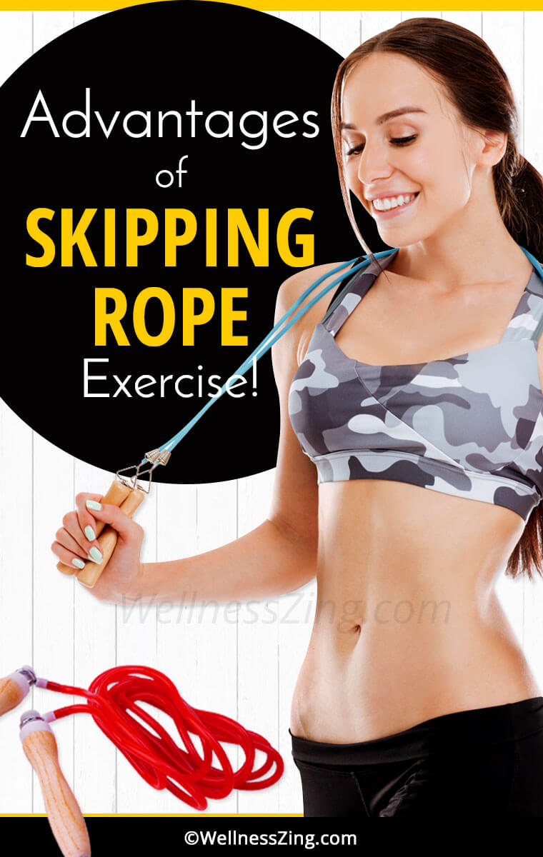 Advantages of Skipping Rope Exercise