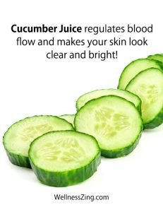 Cucumber Juice Benefits for Glowing Skin