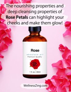 Rose Petals and Rose Oil Can Make Your Face Glow
