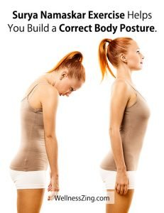 Surya Namaskar Builds Correct Body Posture