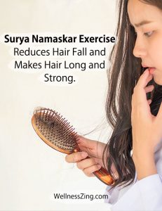 Surya Namaskar Helps Reduce Hair Fall