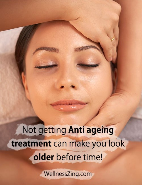 Anti ageing treatment to look Younger