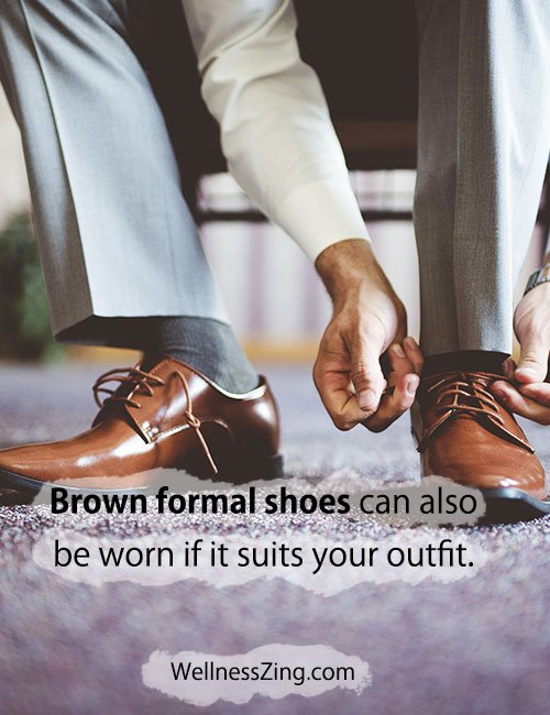 Brown Formal Shoes Can Also Fit your Attire