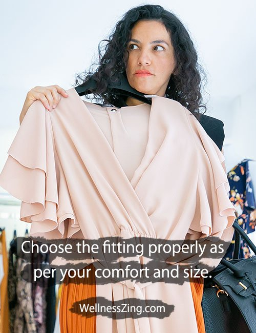 Choose perfect fitting dress as per your body shape