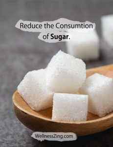 Eat Less Sugar for Better Health