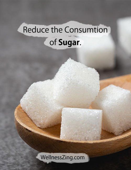 Eat Less Sugar for Better Health