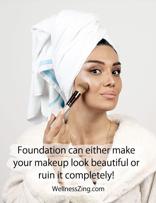 Foundation is Very Important for Your Makeup
