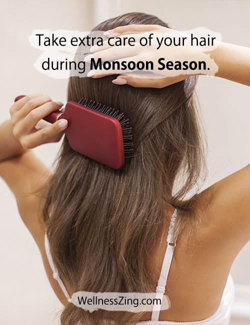 Hair Care During Monsoon Season