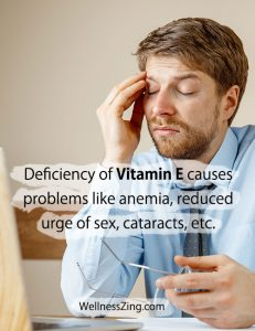 Health Problems due to Vitamin E Deficiency