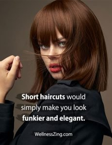 Short Haircuts Make you Look Beautiful, Elegant and Smart