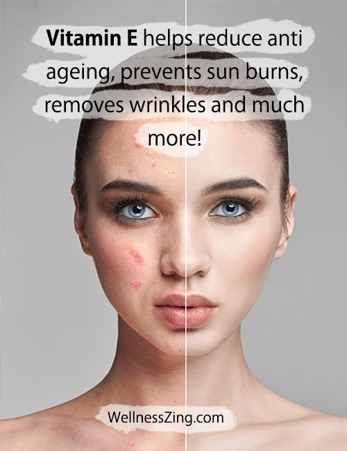 Vitamin E Benefits for Glowing Healthy Skin