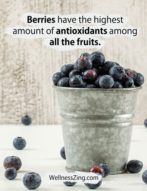 Berries Contain Highest Antioxidants Among All Fruits